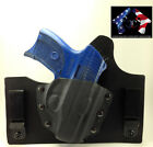 IWB KYDEX HOLSTERS FOR RUGER LC9/LC380 HYBRID LEATHER KYDEX CONCEALED CONCEPT