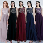 US Women Sleeveless Evening Party Prom Gown Formal Bridesmaid Dresses 08217