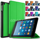 "Kindle Alexa Fire 7"" 2017 Smart Magnetic Leather Stand Shockproof Case Cover"