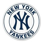 New York Yankees  Round  Decal / Sticker Die cut