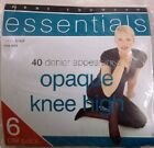 Ladies Essentials 40 Denier apperance Opaque Knee High Pack of 6