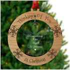 Remembering Angels in Heaven Christmas Tree Decoration Bauble Memory Memorial