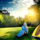 """Huge Double Sleeping Bag 23F/-5C 2 Person Camping Hiking 86""""x60"""" W/2 Pillows AL4"""