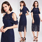 Alisa Pan Women Ladies Lace Bodycon Casual Dress Cocktail Party Dress 05920