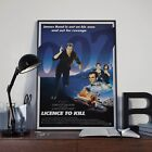James Bond 007 Licence To Kill Cinema Movie Film Poster Print Picture A3 A4 £3.92 GBP