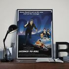 James Bond 007 Licence To Kill Cinema Movie Film Poster Print Picture A3 A4 £7.9 GBP on eBay