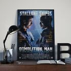 Demolition Man Snipes Stallone Movie Film Cinema Print Poster Picture A3 A4