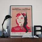 Funny Face Audrey Hepburn Movie Film Poster Print Picture A3 A4