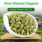 100 Organic Premium King Grade Jasmine Dragon Pearl Chinese Hand Roll Green Tea