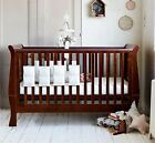 Pack of 8x Bumper Bars Breathable Protector Fits All Baby Cots / Cribs
