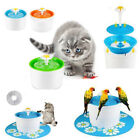 US Automatic Electric 1.6L Pet Water Fountain Dog/Cat Drinking Filter Bowl