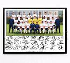 TOTTENHAM HOTSPUR SIGNED PRINT PHOTO POSTER SQUAD 2017 2018 TEAM SPURS FRAMED