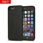 M&Y sofe Silicone case Cover for Apple iPhone 7 / 8 Plus Case Free glass film