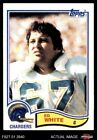 1982 Topps #239 Ed White Chargers NM $0.99 USD