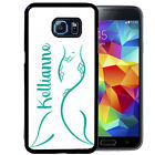 PERSONALIZED RUBBER CASE FOR SAMSUNG S8 S7 S6 S5 EDGE PLUS TEAL MERMAID TAIL