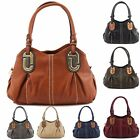 Womens Ladies Bag Italian Designer Style Quality Slouch Shoulder Tote Handbag