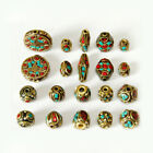 Nepalese Tibetan Brass Alloy Loose Spacer Beads jewelry Findings Tibet Nepal