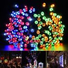 Solar Powered 200LED String Light Fairy Lamp for Holiday Garden Party Decoration