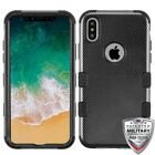 Apple iPhone X /XS Shockproof Impact HYBRID Armor Rubber Rugged Case Hard Cover