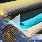 Brown 6'-8' Tall Fabric Roll Shade Cloth Fence Outdoor Windscreen Privacy Mesh