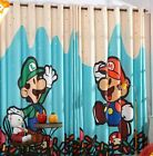 *** Custom-Made Super Mario Curtain ***