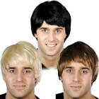 Guy Wigs Mens Fancy Dress Celebrity Character 1960s 70s 80s Costume Accessories