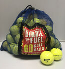 Pick The Brand! 60 Ball Mesh Bag Near Mint Used Golf Balls