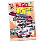 Japanese Sugo Gt 1997 Championship Racing Reproduction Poster 2 Sizes Available