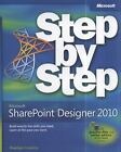 Step by Step: Microsoft SharePoint Designer 2010 by Penelope Coventry (2010