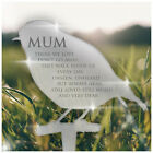 PERSONALISED ANY NAME Remembrance Memorial Plaque In Loving Memory Grave Outdoor