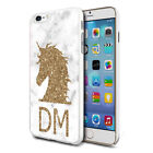 Personalised Gold UNICORN Head Phone Case Cover for Various Mobile Phones