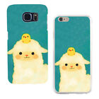 Cute Chicken Alpaca Print Case Cover for iPhone X Samsung Huawei Mate 8 Flowery