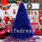 Royal Blue Black Christmas Tree Jackson Spruce Home Party Xmas Decoration Gift
