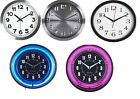 Classic NEON WALL CLOCK Home/Office/School Silent Large Numbers Clock 10 -12inch
