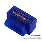 Mini ELM327 OBD2 II Bluetooth Car Auto OBD2 Diagnostic Interface Scanner Tool