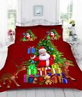 Digital 3D Printed Christmas Gifts Duvet Quilt Cover Bedding Set With Pillowcase