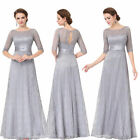 US Long Lace Mother Of Bride Evening Party Dresses Cocktail Ball Prom Gown 08878