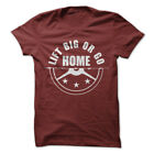 Workout Shirt C625 LIFT BIG OR GO HOME Men's BodyBuilding Apparel Tees 12 Colors