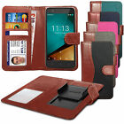For Gigabyte GSmart Aku A1 - Clip On Fabric / PU Leather Wallet Case Cover