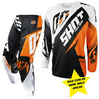 SHOT CONTACT FAST KTM ORANGE CLEARANCE MOTOCROSS ENDURO MX COMBO KIT PANT JERSEY