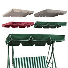 Swing Top Cover Replacement Canopy Porch Park Patio Outdoor 66x45 75x52