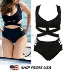 Women Bikini Set Bandage Bustier Push Up Swimwear Swimsuit Bathing Beachwear