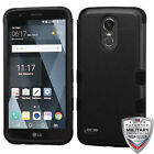 LG Stylo 3 / Plus HYBRID Shockproof Impact Armor Rubber Rugged Case Phone Cover