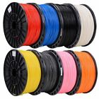 3D Printer Filament ABS 1.75mm 3LB per roll MakerBot RepRap Brand New Sealed