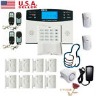 GSM 108 Zones Wireless & Wired Voice Home Alarm Security System LCD Auto Dialer#