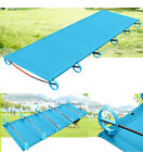Outdoor Folding Camping Bed Potable Aluminium Alloy One Person Travel Tent Cot