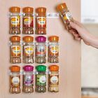 Home Kitchen Clip Spice Gripper Jar Rack Storage Holder Wall Cabinet Door ILC