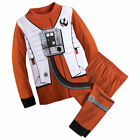 NWT Disney Store Star Wars Poe Dameron Costume PJ Pals Pajama Set 5,6,7,8,10 $21.91 USD