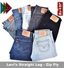 VINTAGE LEVI LEVIS JEANS STRAIGHT LEG ZIP FLY GRADE A DENIM MENS 505 506 521 751