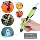 3D Printing Drawing Pen Crafting Modeling w/Filaments Art Printer Tool Gift X3Q3